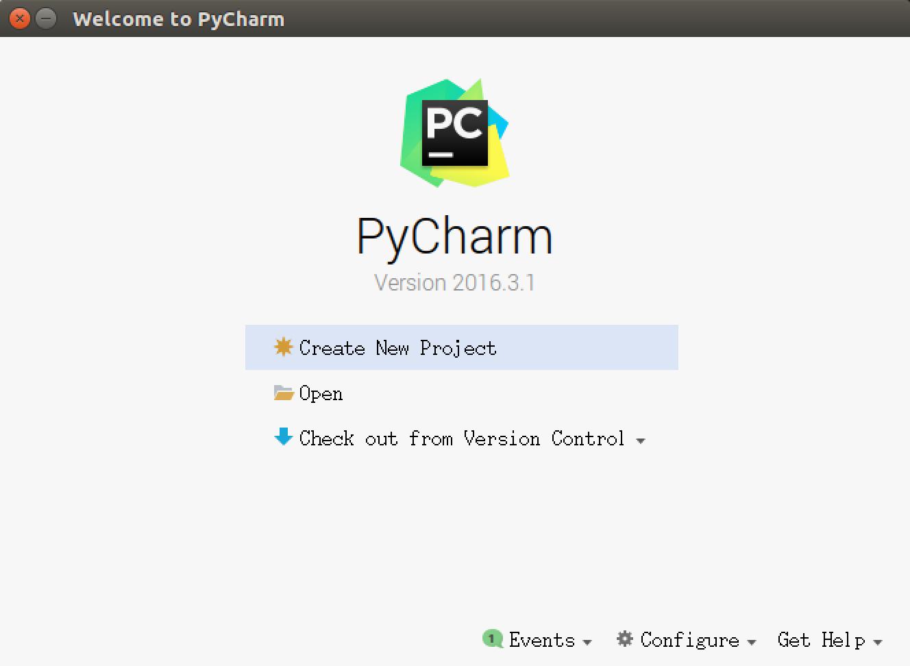 004_PyCharm欢迎页面.png
